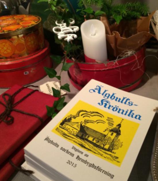 """Julen dukas upp på """"Kattvinden"""", Uranäs Blomsterverkstad 2015"""