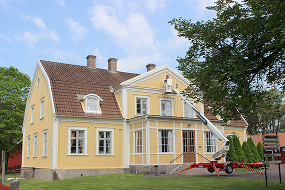 Tingshuset, Tegnérlada i Lenhovda